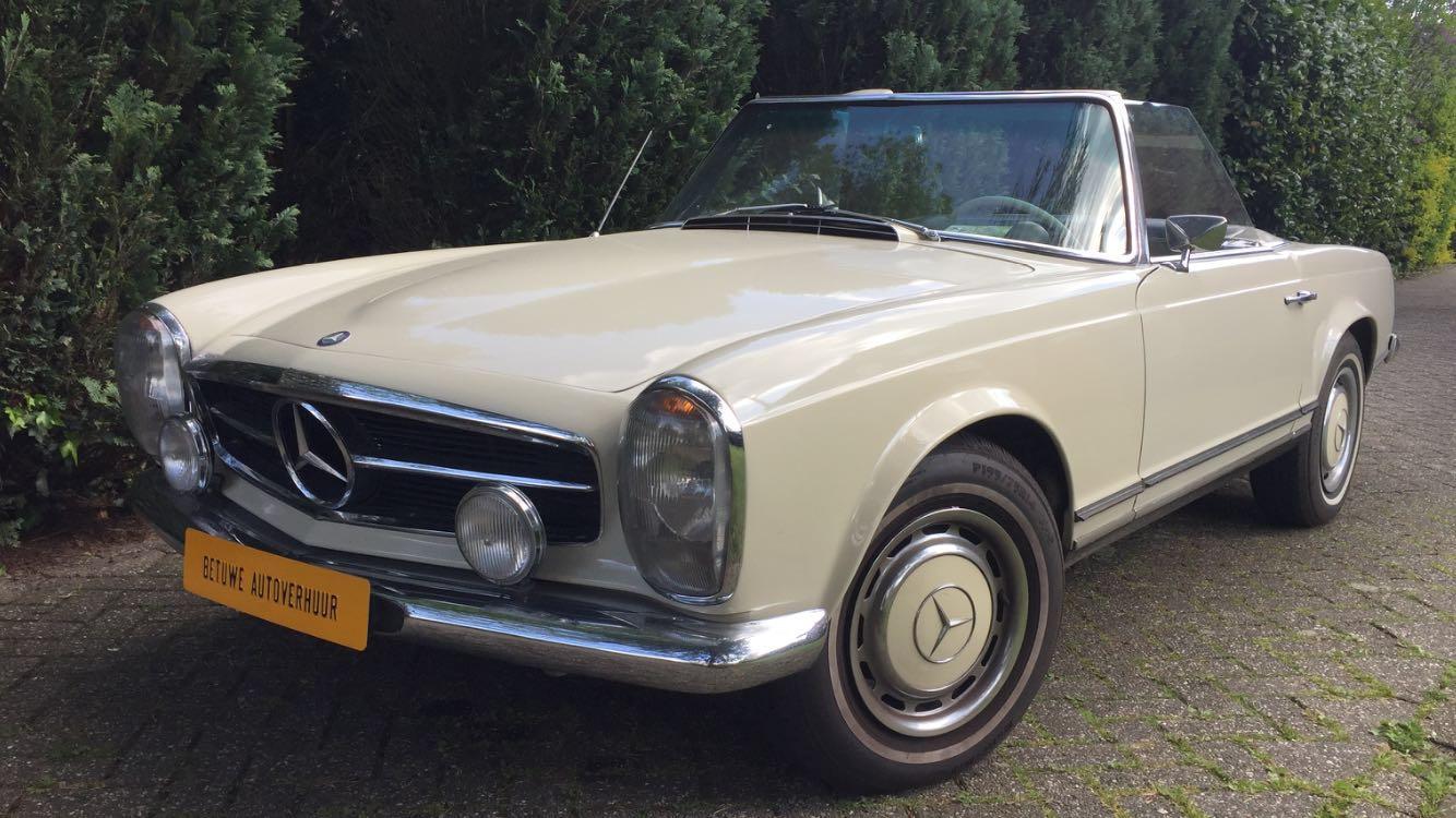 Mercedes 230 SL Uit 1964